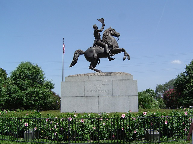 Andrew Jackson Statue Targeted By Protesters Remains Standing